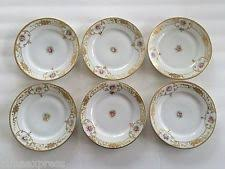 Nippon Patterns 1911 To 1921 Extraordinary Bread Plate Nippon China Dinnerware For Sale EBay