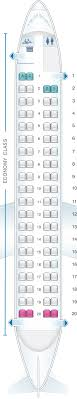 Dhc 8 400 Dash 8q Seating Chart Seat Map Air Canada Bombardier Q400 Seatmaestro