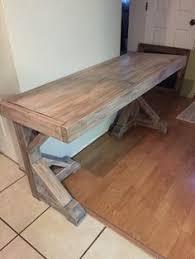 DIY Desk for $70 - Faux Restoration Hardware Finish