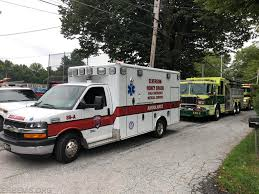 ambulance 89 a staging at wagoner park with the 48 units