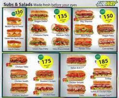 subway menu prices. Perfect Subway Source Zomato U2013 Subway Churchgate Menu To Prices