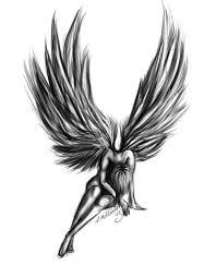 Tribal Angel Designs Download Free Png Fallen Angel Tattoo Design Dlpng Com