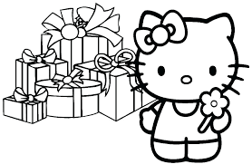 Baby Hello Kitty Coloring Pages Baby Cats Colouring Pages