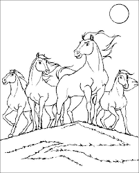 Small Picture Coloring pages spirit the wild horse picture 5