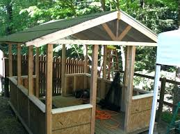 wooden screen house kits deck enclosure home depot ideas large size
