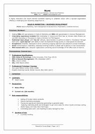 Resume Format For Mba Finance Freshers Pdf Lovely Student Resume