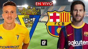 CADIZ vs BARCELONA EN VIVO 🔴 LA LIGA - YouTube