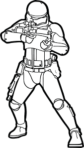 Star Wars Coloring Pages Solo Storm Trooper Pictures Stormtrooper