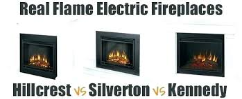 real flame electric fireplace insert realistic home decor assembly instructions