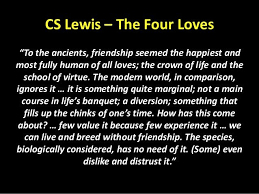 Cs Lewis Quotes On Friendship Simple Cs Lewis Quote About Friendship Mesmerizing Picture Quotes From C S