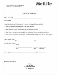 met life authorized designee form