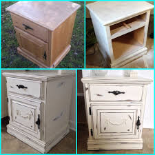 distressed white wood furniture. my diy shabby chic nightstand furniture makeover painted wood distressed paint white y