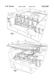 patent us5452489 dock leveler automatic end barrier patent drawing