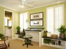 natural lighting in homes. light green home office with ample natural lighting in homes i