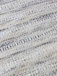 braid tempest tusk ivory in natural wool flatweave detail image