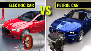 Electric cars vs Petrol cars - YouTube