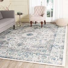 area rug evoke gray ivory 9 ft x 12 ft area rug