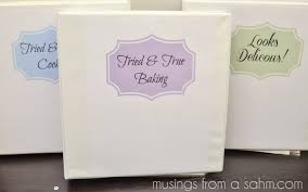 A Simple Diy Recipe Binder With Free Printables