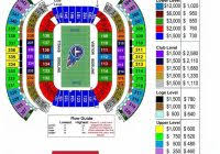 Titans Stadium Seating Chart Amazing Nissan Stadium Seating Chart Seating Chart