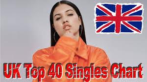 The Uk Top 40 Singles Chart