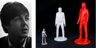 Sir <b>Paul McCartney</b> Makes 3D Printable Version of Self Available to ...