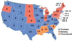 Truman Presidency Chart 1948 United States Presidential Election Wikipedia