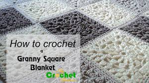 Granny Square Blanket Pattern Fascinating How To Crochet A Granny Square Blanket Free Crochet Pattens YouTube