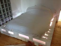 easy to make furniture ideas. Delighful Easy Another Simple Easy To Make Piece Of Home Furniture Pallet Beds Are Great  And With The Addition A Few Lights Can Look Really Impressive In Easy To Make Furniture Ideas E