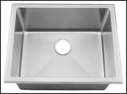 deep stainless steel laundry sink