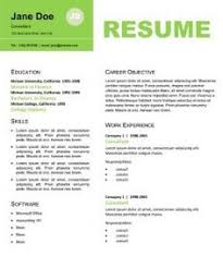 Professional resume design and get inspiration to create a good resume 3