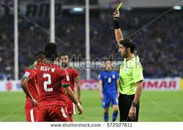 2018 suzuki cup. brilliant suzuki bangkok thailand dec17unidentified referee show yellow card during the aff suzuki  cup 2016 final throughout 2018 suzuki cup