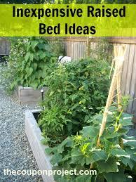building a raised bed garden vegetable on slope diy beds concrete