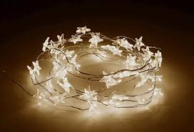 star shaped lighting. Star Shaped Fairy Lights Copper Wire LED String Lighting H