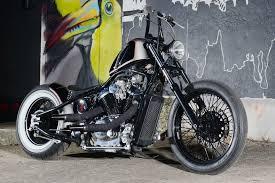 flat gunmetal and black bobber houston retro bobbers