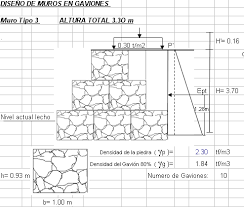Small Picture File structural calculate of gabions in DOCUMENT BiblioCAD