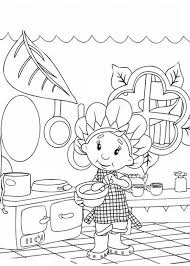 Small Picture Fifi Cooking at the Kitchen in Fifi and the Flowertots Coloring