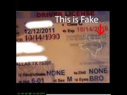 Catch Texas A Id Youtube - Fake