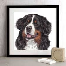 Daimond Painting Puppy Bernese Mountain Dog 5d Diamond Embroidery Dog Cross Stitch Handwork Animal