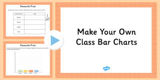 How To Make Your Own Chart Make Your Own Class Bar Charts Editable Presentation Make