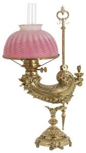 Pe Guerin Gilt Brass Student Lamp Lamps Pinterest
