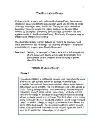 textbook writing illustration essay chapter by merrill glustrom  page 1 1 the illustration essay