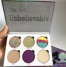 love luxe beauty fantasy palette makeup you are unbelievably beautiful highlighters eyeshadow eye shadow love luxe beauty love luxe beauty fantasy 6 colors