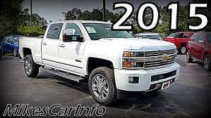 2015 CHEVROLET SILVERADO 2500HD HIGH COUNTRY - YouTube