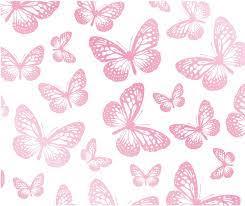 Fun4walls Butterflies Wallpaper, White ...
