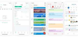 Calendar Interface Design Smart Calendar For Traveling Salespeople Ux Ui Design
