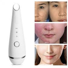 Anti Aging Light Therapy At Home Photon Light Therapy Hot Cold Vibration Face Eye Massager