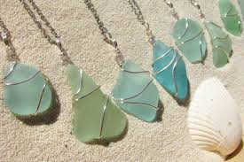 a few weeks ago i received an email from a bride who was looking for some sea gl jewelry to give as gifts to her bridesmaids