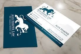 Office Visiting Card Serious Professional Business Business Card Design For Law Office
