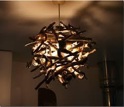 driftwood lighting. Driftwood Nest Pendant Lighting