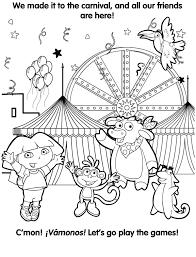 25 Het Beste Dora En Friends Spelletjes Kleurplaat Mandala